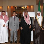 The Saudi Arabia's chargé d'affaires Reda Al-Nuzha, The Saudi Consul  in Canberra Dr Hassan Alansari, ,Saudi  Culture  attaché Abdul-Aziz  Bin Taleb , Mr. Faisal Ghazi Hifzi First Secretary received the guests at the 82nd celebration.